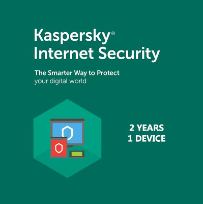 Kaspersky Internet Security 1 Device 2 Years GLOBAL for PC