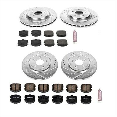 Power Stop K1445 High Performance Brake Upgrade Kit