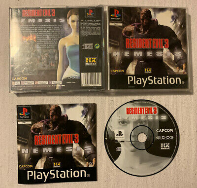 Resident Evil 3 Nemesis - Sony PlayStation 1 PS1 PSX PAL ITA Black Label