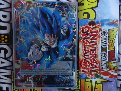 Dragon Ball Super Card Game FR Vegeta SSB,Technique inspirée BT9-105 SR NEUF