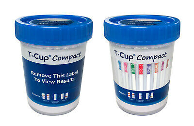 (100)-5 Panel Drug Test Cup - Test For 5 Drugs Instantly - CLIA Waived