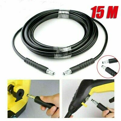 49FT 15M High Pressure Washer Extension Hose For Karcher K4 K2 K4 K5 K7 K Series