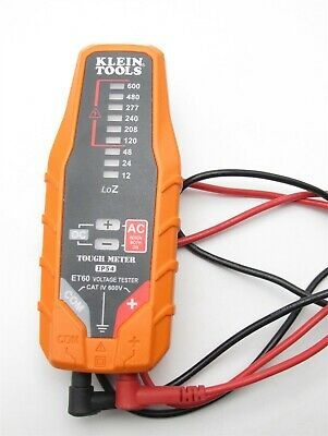 Klein Tools IP54 Tough tools Voltage tester meter Very Nice