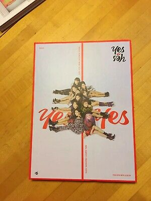 Twice Yes Or Yes Album No Photocard No Cd