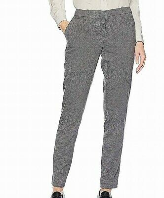 Tommy Hilfiger Women's Dress Pants Gray Size 8 Slim Ankle Leg Stretch $79 #677