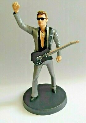 Figurine Johnny Hallyday 14 cm New in box Collection statuette