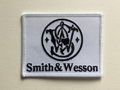 D450 // Ecusson Patch Aufnaher Toppa / Neuf / Smith & Wesson 8 Cm