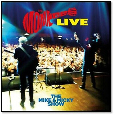 The Monkees  - Live - The Mike & Micky Show - New CD Album - PreOrder - 17th Apr