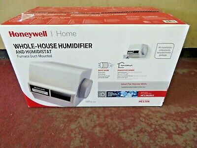 Honeywell Whole House Drum Humidifier with Installation Kit