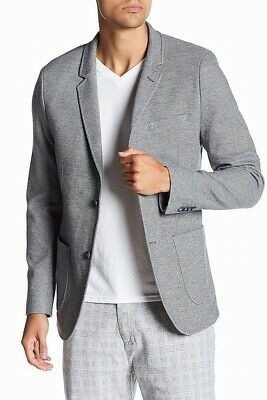 Civil Society Mens Sport Coat Gray Size 2XL Thompson Two-Button $198 #444