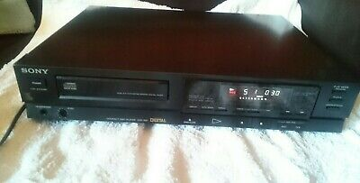 Vintage Sony Cdp-350 Single Disk Cd Player Compact Disc Player