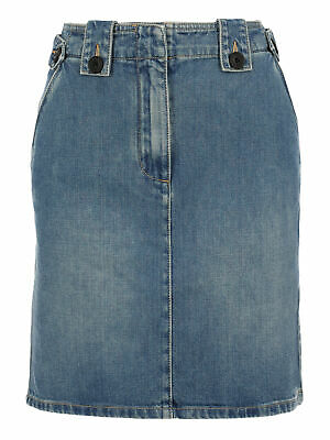 Givenchy Women Skirts Navy Cotton IT 36