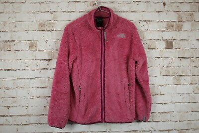 The North Face Pink Fleece Jacket size L Girls