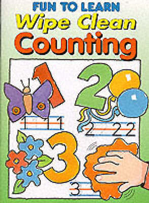 (Good)-Wipe Clean Counting (Fun to Learn S.) (Paperback)--1859971466