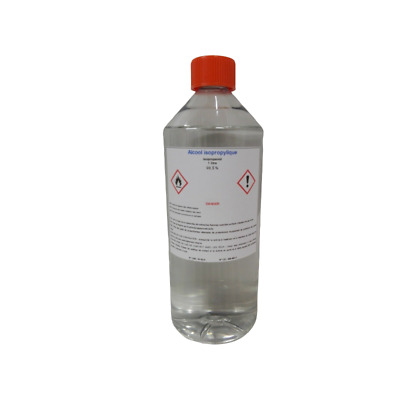 Alcool Isopropylique 99,7% 1 Litre IPA Solvant Puissant 2-Propanol Isopropanol