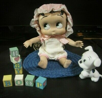 """Vinttage The Danbury Mint Betty Boop Baby Boop Porcelain Doll """"B""""  Is For Boop"""""""