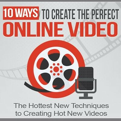 10 Ways To Create The Perfect Online Video eBook PDF (Free Shipping)