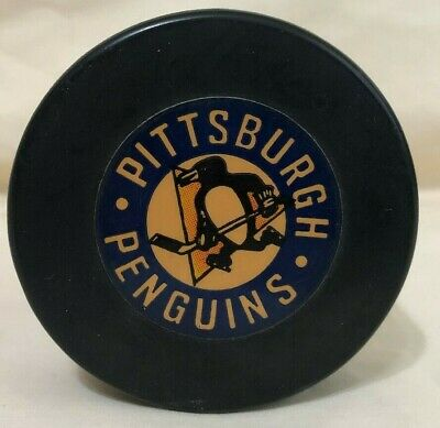 Details about Pittsburgh penguins art ross converse nhl official game hockey puck