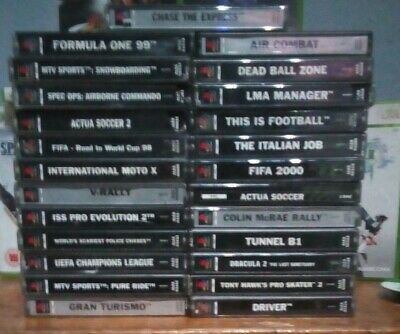 **Joblot Bundle Of 25 x Playstation One PS1 Video Games * PAL Version * Tested**