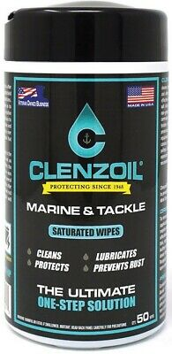 Clenzoil--Marine/Tackle Saturated Wipes