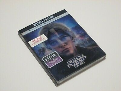 Ready Player One 4K Ultra HD + Blu-ray with Lenticular Slipcover