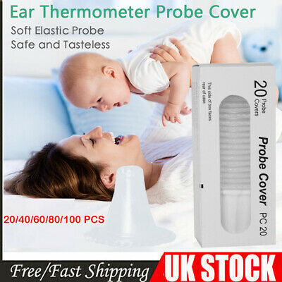 Braun Probe Covers Thermoscan Replacement Lens Filter Ear Thermometer Caps UK