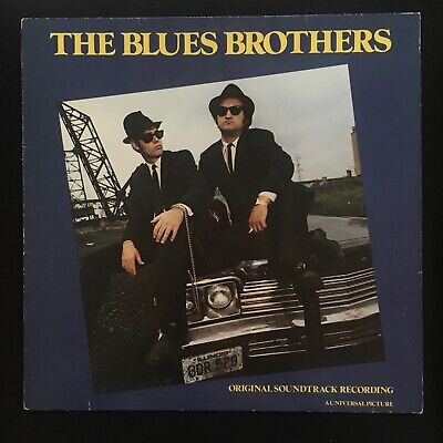 THE BLUES BROTHERS Brown Franklin Charles OST SOUNDTRACK ATLANTIC 1980 VINYL LP