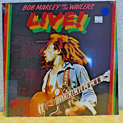 BOB MARLEY AND THE WAILERS - Live! SEALED new LP