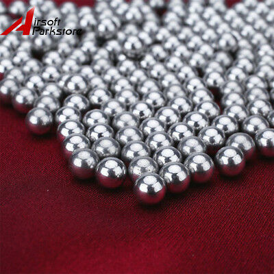 Lots 200pcs 4.5mm Steel Ball Hunting Catapult Bearing Balls Ammo Outdoor Game