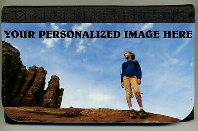 Personalized Custom Color Photo Logo Ladies Wallet Credit Card Coin Holder NEW