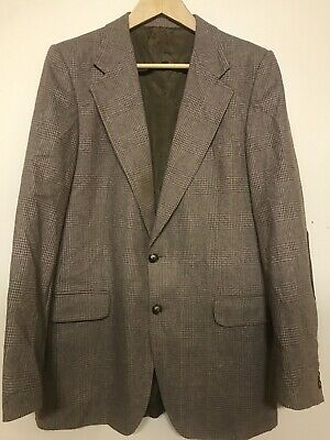 Men's Vintage Yves Saint Laurent Plaid Blazer
