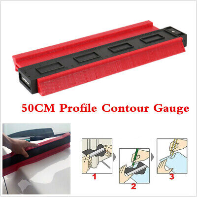 Mutifunction 50CM Car Body Dent Panel Profile Measuring Tool Ruler Gauge Contour