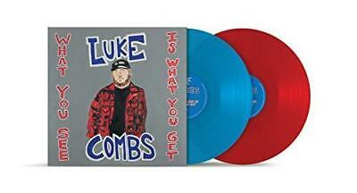Luke Combs - What You See Is What You Get - Limited Edition (NEW 2 VINYL LP)