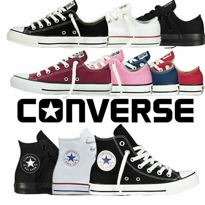 Converse Chuck Taylor All Star Low Ox High Top Unisex Trainers All Size FreeShip