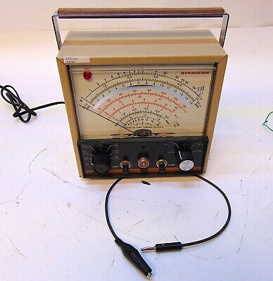 B&K Precision Model 177 VTVM Vacuum Tube Volt Meter With Probe PR-43 S4789