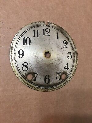 Antique Seth Thomas Crystal Regulator Clock Dial From 48S Movement