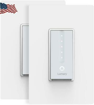 Smart Dimmer Switch Lumary Wi-Fi Electrical In-Wall Decor Light c31d3d