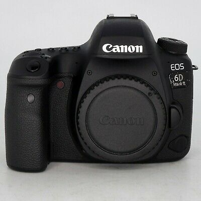 Canon EOS 6D Mark II Digital SLR Full Frame Camera Body- LOW 58 clicks! #1069