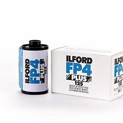 Ilford FP4 Plus, Black and White Print Film, 135 (35 mm), ISO 125, 24 Exposures
