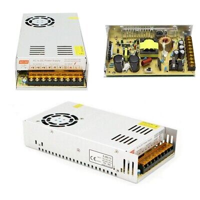 12V 30A 360W AC to DC Power Supply Transformer Regulated Switching Driver LED UK