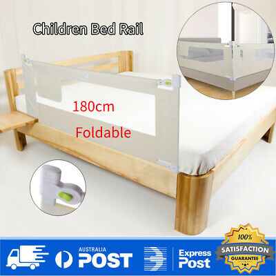 180cm Kids Child Bedguard Toddler Safety Bed Rail Guard Folding Protection