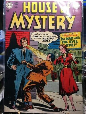 House of Mystery (1951) Issue #4 - Read House of Mystery