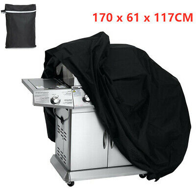 Extra Large XL BBQ Cover Waterproof Heavy Duty Garden Barbecue Grill 170CM