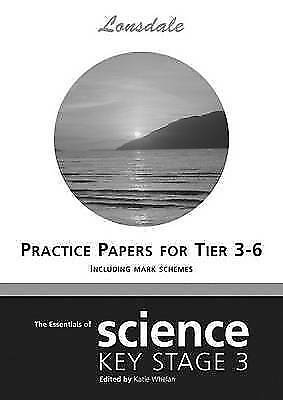 (Very Good)-KS3 SATS Practice Papers: Levels 3-6 (Key Stage 3 Science) (Lonsdale