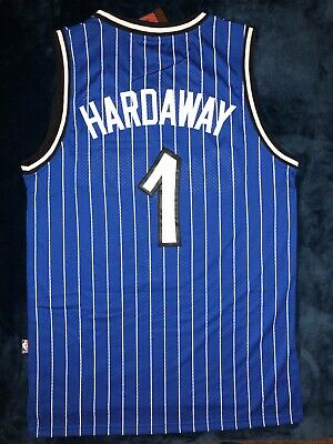 Vintage #1 Penny Hardaway Orlando Magic Men's Blue NBA Stitched Jersey