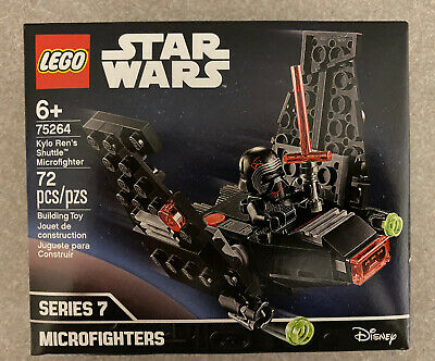 Ships Fast!! New Lego Star Wars 75264 Kylo Ren's Shuttle Microfighter Series 7