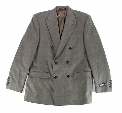 Lauren By Ralph Lauren Mens Blazer Tan Brown Size 38 Regular Wool $187 #150