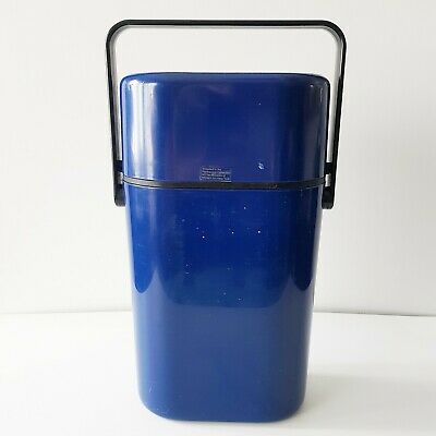 Vintage Decor Wine Chiller Cooler BYO Carrier 2 Bottles Blue Chill Pack Picnic