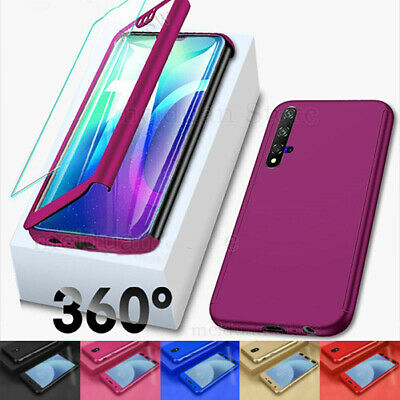CASE For Huawei Honor 8X 8A 9X 10 20 Shockproof 360° Full Body Cover Protective
