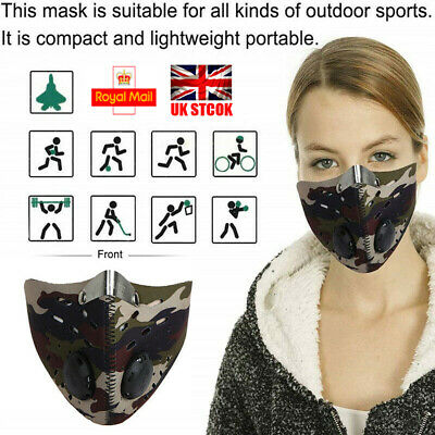 Anti-Pollution Half Face Dust Sports Mask Filter Mask Motorcycle Bicycle Cycling